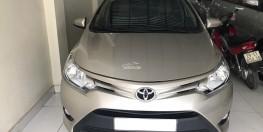 Cần bán Toyota Vios 1.5E CVT đời cuối 2016, màu nâu vàng, Máy Dual. Hàng Cực Tuyển