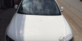 Bán Audi A4-2010, màu trắng lên cản độ RS4, nhập khẩu
