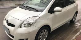 Bán Toyota Yaris 2010  tự động nhập nhật màu trắng tuyệt.