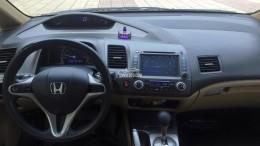 Bán Honda Civic 2.0 tự động 2009 màu vàng kim tuyệt đẹp