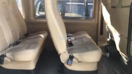 Ford Transit 2016 máy dầu số sàn, màu hồng phấn 16 chỗ