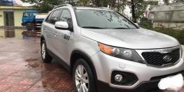 kia Sorento 2012, số tự động, bản full GATH, màu bạc, xe nhà dùng