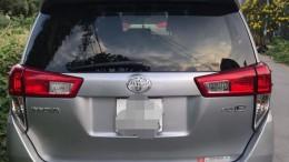 Bán Toyota Innova 2017 đk 2018 số sàn  xám long chuột