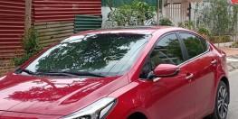Bán Kia Cerato 2018 đk 2019 tự động Đỏ xe mới mua.