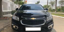 Cần bán Chevrolet Cruze LTZ model 2017 số tự động,màu đen