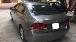 Cần bán xe Honda Civic 2.0AT 2008 màu xám bạc