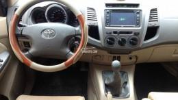 Bán Toyota Fortuner số sàn 2009 máy dầu xám chì zin như mới