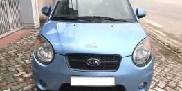 Bán xe Kia Morning slx năm 2008, màu xanh lam, xe nhập