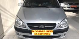 Cần bán Hyundai Getz 1.1MT đời 2010, màu bạc, nhập khẩu. Xe Đẹp