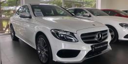Mercedes-Benz C300 2017 (trắng) chính hãng  đã qua sử dụng