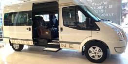 Ford Transit 2019 Số sàn, xe 16 chỗ, tiện nghi/ quà khủng