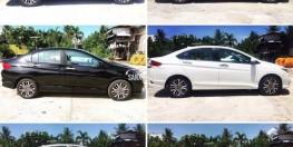 Mời quý khách hàng tham khảo bảng màu thực tế và bảng giá cập nhật Honda CITY