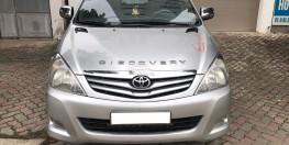 Toyota Innova 2.0G năm sản xuất 2009, màu bạc. Xe tuyển. Nói không với taxi dịch vụ