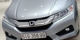 Cần bán Honda City 2017 1.5 số tự động, Odo thấp, màu ghi xám xe đẹp cực.