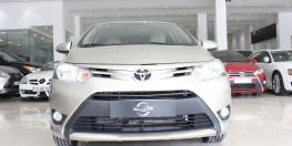 Cần bán Toyota Vios đời 2018 1.5 AT, Odo: thấp, màu vàng cát, xe đẹp cực.
