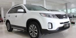 Cần bán Kia Sorento 2017 full máy dầu, màu trắng tinh tươm, xe đẹp cực.