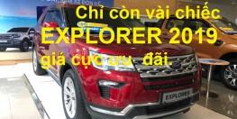 Explorer 2019 mới 100% nhập khẩu 9/2019