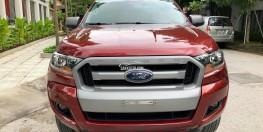 GIAO NGAY  Ford Ranger ĐỎ 2.2 XLS   sx2017 Lắp thùng giá cực tốt
