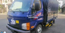 Xe tải Hyundai 2t4 thùng dài 4m4 chỉ cần trả trước 100 triệu.