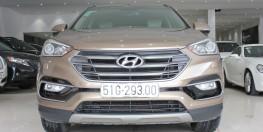 Hyundai SANTAFE 4WD 2017 máy xăng, bản full