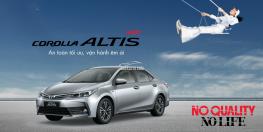 Corolls Altis 1.8E MT. Click để xem khuyến mãi tháng 9.