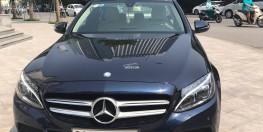 Mercedes C200 2016 xanh - nội thất kem