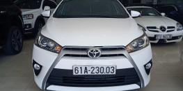 Cần bán Toyota Yaris đời 2015 2.0 AT nhập khẩu nguyên chiếc từ Thái Lan, Odo: 32.000 km, xe màu trắng cực phẩm.