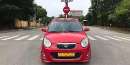 Kia Morning SLX sản xuất năm 2010, màu đỏ, nhập khẩu. Fomr mới máy to