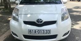 Bán Toyota yaris 2011 nhập nhật, màu trắng xe chính chủ