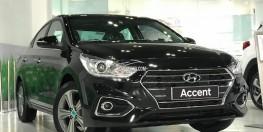Bán xe Hyundai Accent 1.4 AT sản xuất năm 2019, giá chỉ 504 triệu đồng có sẵn xe và đủ màu