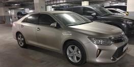 Cần bán GẤP xe Toyota Camry 2.5Q đời cuối 2016 màu vàng cát