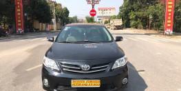 Toyota Corolla Altis 1.8G đời 2011, màu đen. 1 Chủ Chánh Án Tòa Án Sóc Sơn