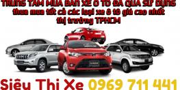 Thu mua ô tô cũ, ô tô đã qua sử dụng giá cao tại TP. HCM