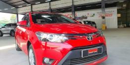 Bán xe Vios G màu đỏ 2015