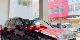 Hyundai Santa Fe giá 985tr tặng dán phim , lót sàn, ...
