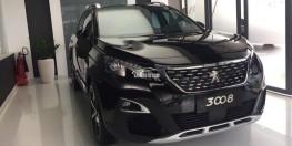 Peugeot 3008AL 2019 ĐEN, Ưu đãi 38 triệu đồng, Nhận xe chỉ với 380 triệu, Mua xe ONLINE mùa Covid - AN TOÀN sử dụng tránh Covid