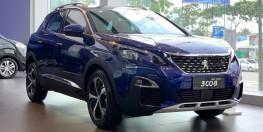 Peugeot 3008AL 1.6turbo 2019 XANH DƯƠNG, ƯU ĐÃI 38 TRIỆU, NHẬN XE CHỈ VỚI 380 TRIỆU, GIAO XE NGAY, NHẬN XE AN TOÀN MÙA COVID