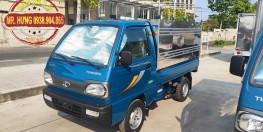 Xe tải Thaco Towner 800 - Thùng Kín tải trọng 850kg - Thùng Mui Bạt tải trọng 900kg - Thùng Lửng tải trọng 990kg