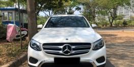 Mercedes Phú Mỹ Hưng cần bán GLC200 2019 lướt chính hãng, odo 6.500 km - màu trắng