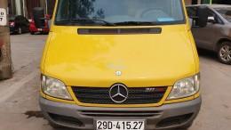 BÁN XE MERCEDES BENZ SPRINTER PANEL VAN 311 ĐỜI 2010 TẠI ĐÔNG ANH, HÀ NỘI.