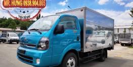 Xe tải Kia K250 tải trọng 1 Tấn 4/ 2 Tấn 4 - Thùng dài 3m5 - Hỗ trợ vay 70% - Ra số xe