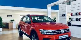 Volkswagen Tiguan Luxury nhập khẩu nguyên chiếc, hỗ trợ trả góp 0% kèm tặng lệ phí trước bạ.