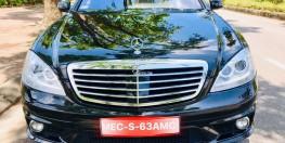 BÁN XE MERCEDES BENZ S CLASS S63 AMG 2008 TẠI GIA LÂM, HÀ NỘI