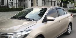 Bán gấp xe Toyota Vios 1.5E 2015 chính chủ