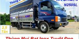 Xe tải Hyundai Mighty N250SL 2T5 thùng dài 4m3