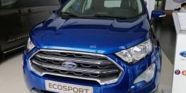 Bán xe Ford Ecosport Titanium 2020 AT màu xanh giao ngay