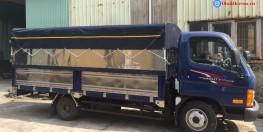 Xe tải 2,5 tấn Hyundai N250SL thùng mui bạt dài 4m3
