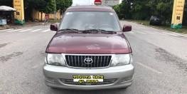 Toyota Zace GL cuối 2004, màu đỏ, chính 1 chủ biển 4 số sử dụng từ mới, nói không với lỗi nhỏ, mới nhất Việt Nam