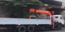 xe kamaz 53229 gắn cẩu kanglim
