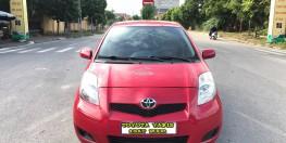 Toyota Yaris 1.3AT đời 2008 fomr mới 2009, nhập Nhật. Bản full bóng khí, lazang đúc, gương kính điện, vô lăng tích hợp.